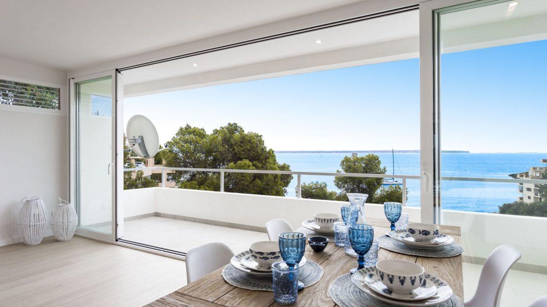 Hochgeladen zuRenoviertes Apartment mit herrlichem Meerblick in Illetas