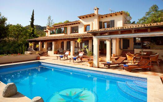 3454 Meerblickvilla in Bendinat nahe Palma