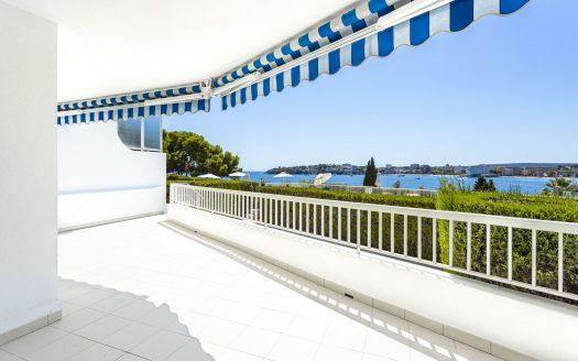 Meerblick Apartment mit großer Terrasse in Palmanova, Mallorca (7)
